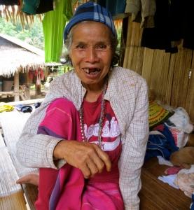 Happy lady in MeDeLeeGwee village