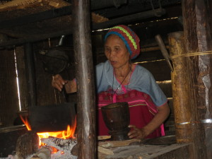 NoWah began cooking our rice as soon as we came in.