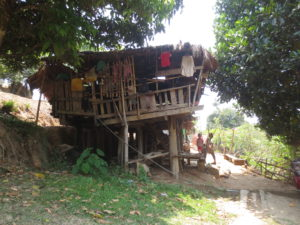 ChaDree's house from the side